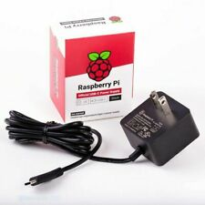 UPC 644824914893 product image for Official Raspberry Pi 4 AC ADAPTER Power Supply-(US) Black Color, UL, SC0218 | upcitemdb.com