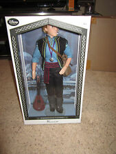"New 2015 LE Disney Frozen Kristoff 17"" Limited Edition of 3500 Collector Doll"