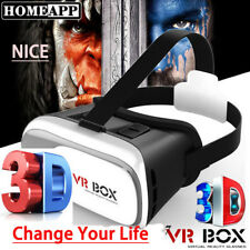 """""""NEW"""" Virtual Reality Glasses Headset 3D VR Glasses Movie Game with Headset"""