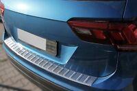 LADEKANTENSCHUTZ EDELSTAHL MATT für VW TIGUAN II und ALLSPACE | ab BJ 2016-