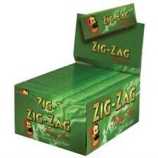 Zig zag Papier à Rouler King Size Vert Boîte de 50 Livres