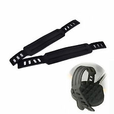 1 Pair Pedal Straps Belts Fix Bands Tape Generic for Fitness Exercise Bike 3C