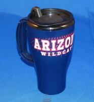 Arizona Wildcats 16 Oz Roadster Durable Plastic Travel Tumbler Coffee Mug Cup