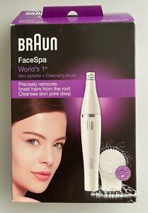Braun Face Gesichtsepilierer und Gesichtsreinigungsbürste 810