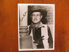 "PIERCE LYDEN(Died-1998)(""The Cisco Kid"")Signed 8 x 10 Black & White Glossy Photo"