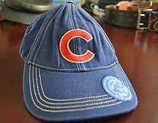 Fan Favorite Youth Chicago Cubs Baseball Cap Blue Denim