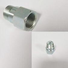5PCS steel O2 sensor spacer for the seconday oxygen sensor Decat Hydrogen Steel