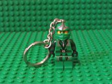 Lego Ninjago Minifigure, Green Ninja Keychain Lloyd ZX 9574 9450 KC50