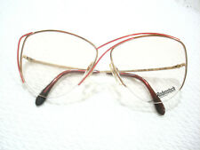 9b858970ef0e Vintage Rodenstock Eyeglasses Lady R 828 Gold Red Authetnic