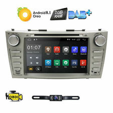 Android 8.1 Car DVD Player GPS Navi Radio Stereo For Toyota Camry 2007-2011 2GB