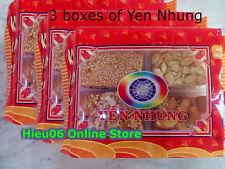 Promotion: lot 3 packs Yen Nhung candy cashew peanut sesame melon keo thap cam