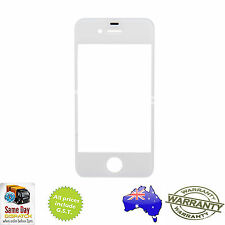 for iPHONE 4S - Front Outer Touch Screen Lens Glass Replacement - WHITE