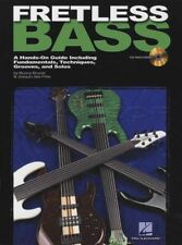 Fretless Bass Method Learn How to Play Guitar TAB Music Book with CD