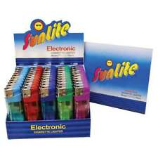 50 Electronic Disposable Lighters Sunlite