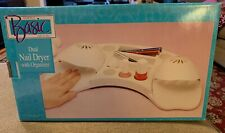 Simply Basic Dual Nail Dryer With Organizer In Box (JL)