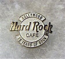 HARD ROCK CAFE HOLLYWOOD 25 YEARS OF ROCK ANNIVERSARY LOGO PIN # 2977