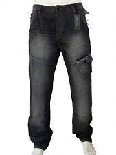 Jeans coupe droite pour homme