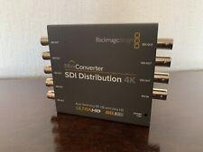 Blackmagic Mini Converter - SDI Distribution 4K Distribute to 8 x SDI Outputs