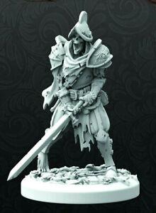 Black Rose Wars Undead - -- LANDSKNECHT SKELETON SOLDIER -- - Nova Aetas Warrior