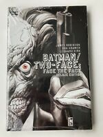 Batman/Two-Face: Face the Face - DC Deluxe Edition Hardcover Graphic Novel NEW!
