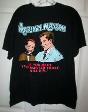 vintage Marilyn Manson Meet Your Master 1996 t shirt   Sz. L