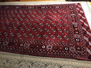 13x7 Handmade Bokhara Wool Rug/Carpet