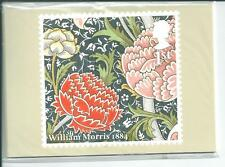 GB - PHQ CARDS -2011 - WILLIAM MORRIS - BACK - FDI/SHS - COMP. SET USED