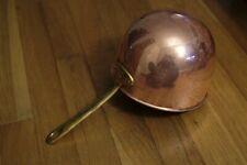 Copper Zabaglione pot