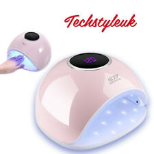 Abody Nail Salon UV Lamp Manicure Polish Dryer White Light Timer 48W 24W LED Kit