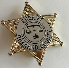 Replica Rosco---- Dukes of Hazzard TV Show----Hazzard County prop Badge