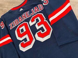 New York Rangers #93 Mika Zibanejad Blue Liberty Jersey