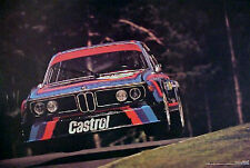 BMW 3.0 CSL Airbone 1974 The Awesome Famous BMW Poster of All Time - Car Poster