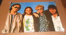 Van Halen Band Shot Sammy Hagar Vintage Poster 35x24 ½ RARE AA239