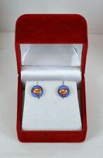 SUPERMAN SHIELD LOGO EARRINGS Inox / DC MIB