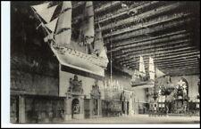 BREMEN ~1910 alte tolle AK Schiff a.d. Decke im Rathaus alte Postkarte
