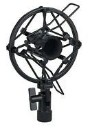 SLIM ANTI SHOCK MOUNT HEAVY DUTY METAL SHOCKMOUNT MIC MICROPHONE CRADLE 22-24MM