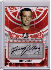 LARRY JEFFREY 12/13 ITG Motown Madness Auto Autograph A-LJ Detroit Red Wings