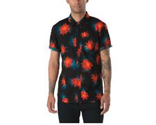 Vans Cultivar Cactus Floral Short Sleeve Buttondown Shirt Size XL
