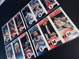 NBA Upper Deck 1996 Mini - Inc. Ray Allen Rookie Stockton Mourning Mutombo Ewing