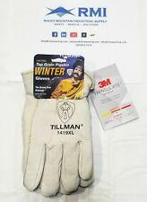 Tillman 1419 Top Grain Pigskin Thinsulate Lined Winter Gloves X Large