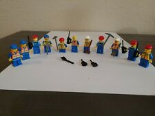 LEGO CONSTRUCTION WORKER MINIFIGURES MEN CITY PEOPLE WITH TOOLS