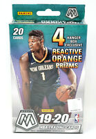 2019-20 Panini Mosaic Basketball Hanger Box Orange Florescent NEW Zion Ja RC Yr