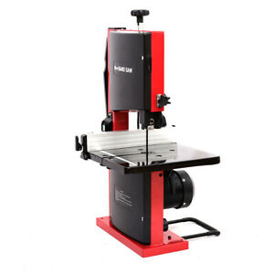 "Heavy Duty 8"" Bench Top Woodworking Bandsaw 200mm Band Cutting Width Table Saw"