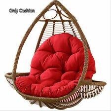 New ListingHanging Rattan Swing Patio Garden Chair Weave Egg Cushion In Outdoor/Indoor