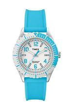 Timex Damenuhr Aluminium Silber Silikonband Datum Analog T2P006PK