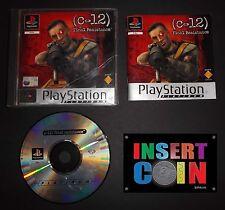 JUEGO  C-12: RESISTENCIA FINAL PLAYSTATION 1 PAL   PS1 PS2 PS3