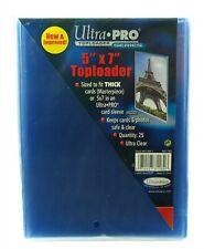 "Ultra Pro TopLoader, 5"" x 7"" Inch, 25 Pack"