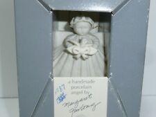 Margaret Furlong Sea Shell Angel 1987 Christmas Ornament with Box