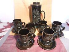 LOTUS Pottery Stoke Gabriel  Coffee SET