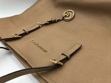 Michael Kors Saffiano Leather Large Tote Bag  Tan Lined See pictures for details